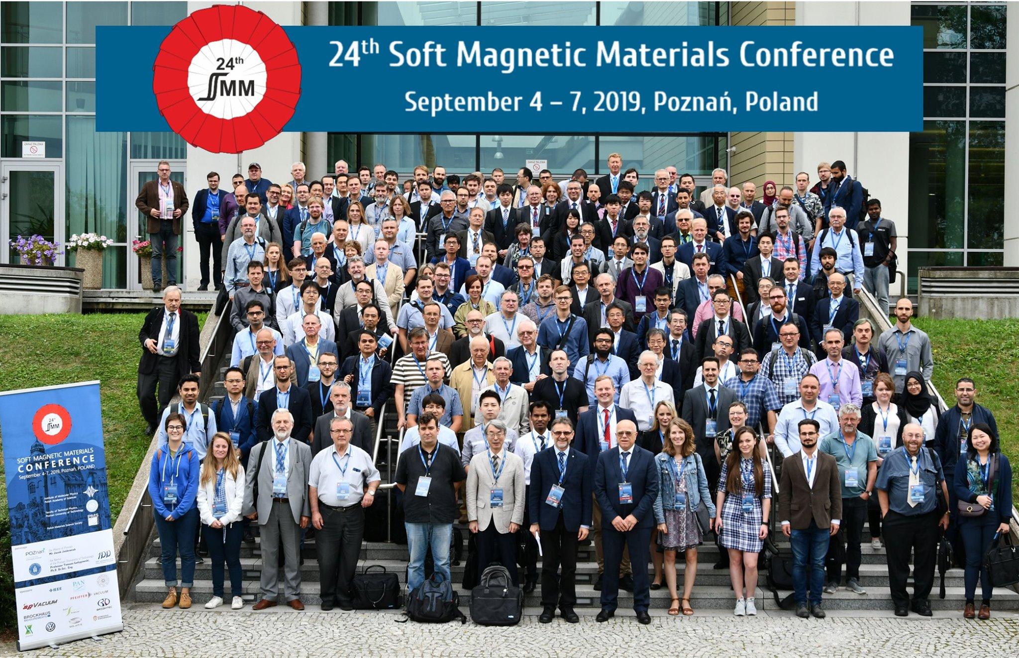 軟磁性材料会議に出席